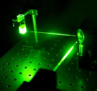 Silver nanoparticles efficiently scatter 532 nm laser light and are often used in molecular detection applications.
